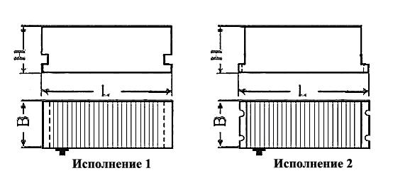 Исполнения электромагнитных плит